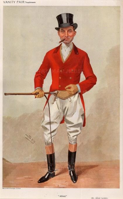 Alfred James Curnick. SPY.