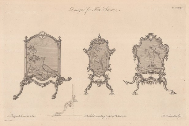 Three examples. Plate CLVIII.