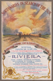 International Sleeping Car & European Express Train to the Rivera.