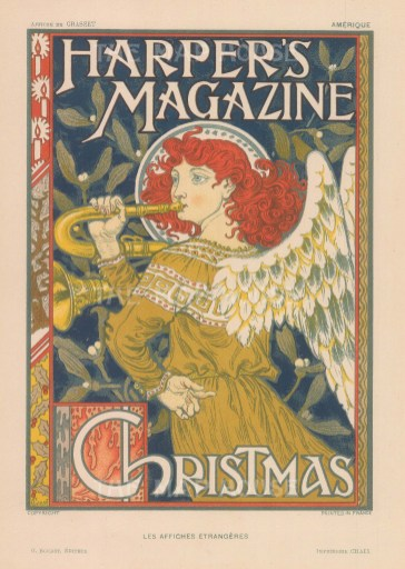 Christmas edition by the Art Noveau artist Eugene Grasset.