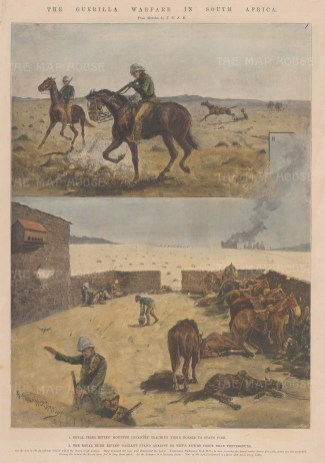 Sketches during the First Anglo-Boer War.