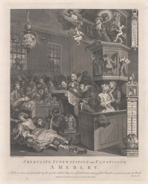 Credulity, Superstition and Fanaticism. A satire of religious fanaticism, particularly relating to Methodists.