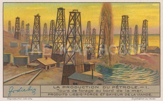 Oil Wells on the Beach. No 1.