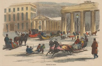 Berlin street scene.