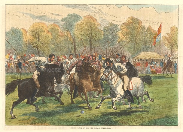 Opening match at the Polo club.