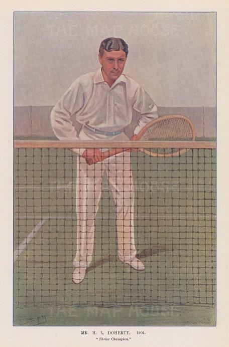 Mr H.L. Doherty, thrice champion