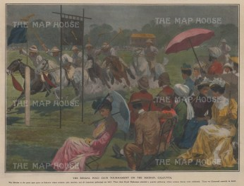 Tournament on the Maidan Calcutta.