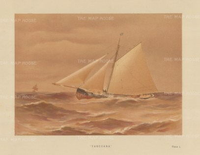 89 ton cutter designed by George Watson in 1880.