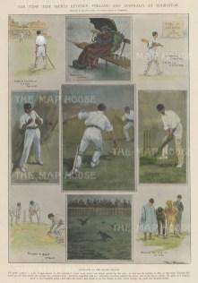 England v Australia at Edgebaston: Nine vignettes of play.
