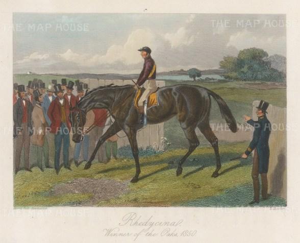 Winner of the Oaks 1850.