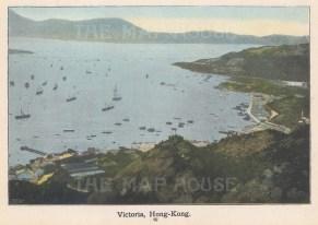 "Anonymous: Victoria. c1930. An original vintage photo-lithograph. 6"" x 4"". [SEASp1760]"