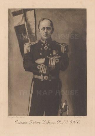 Portrait: Captain Robert Scott after Dr Edward Wilson.