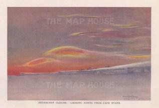 Iridescent Clouds: Looking towards Cape Evans. Terra Nova Expedition 1910-13.