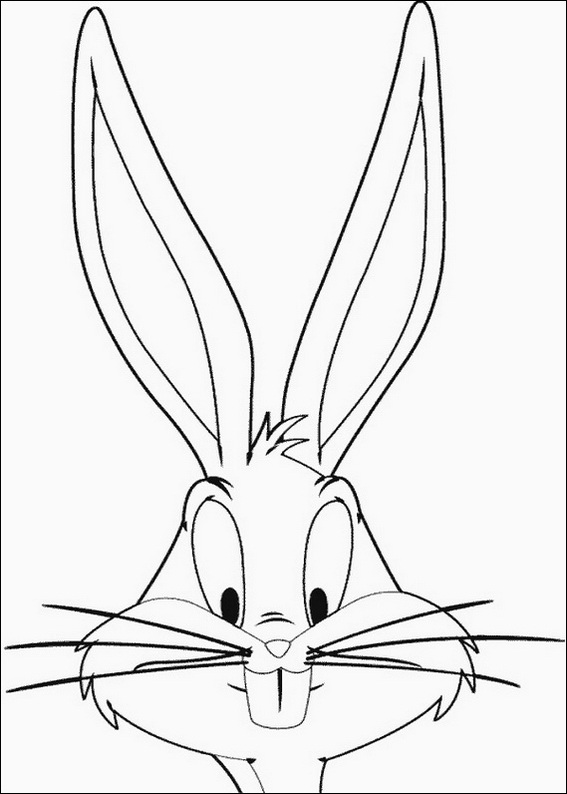 Amusing Disney Character Bugs Bunny 22 Bugs Bunny Coloring Pages Free Printables