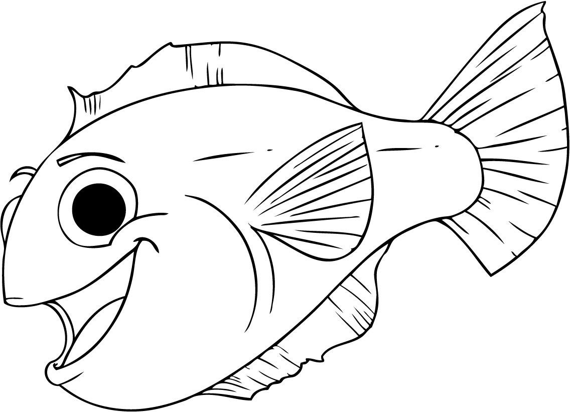 29 Fish And Octopus Coloring Pages For Kids