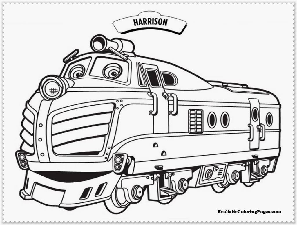 Coloring Pictures On Chuggington Free Printables