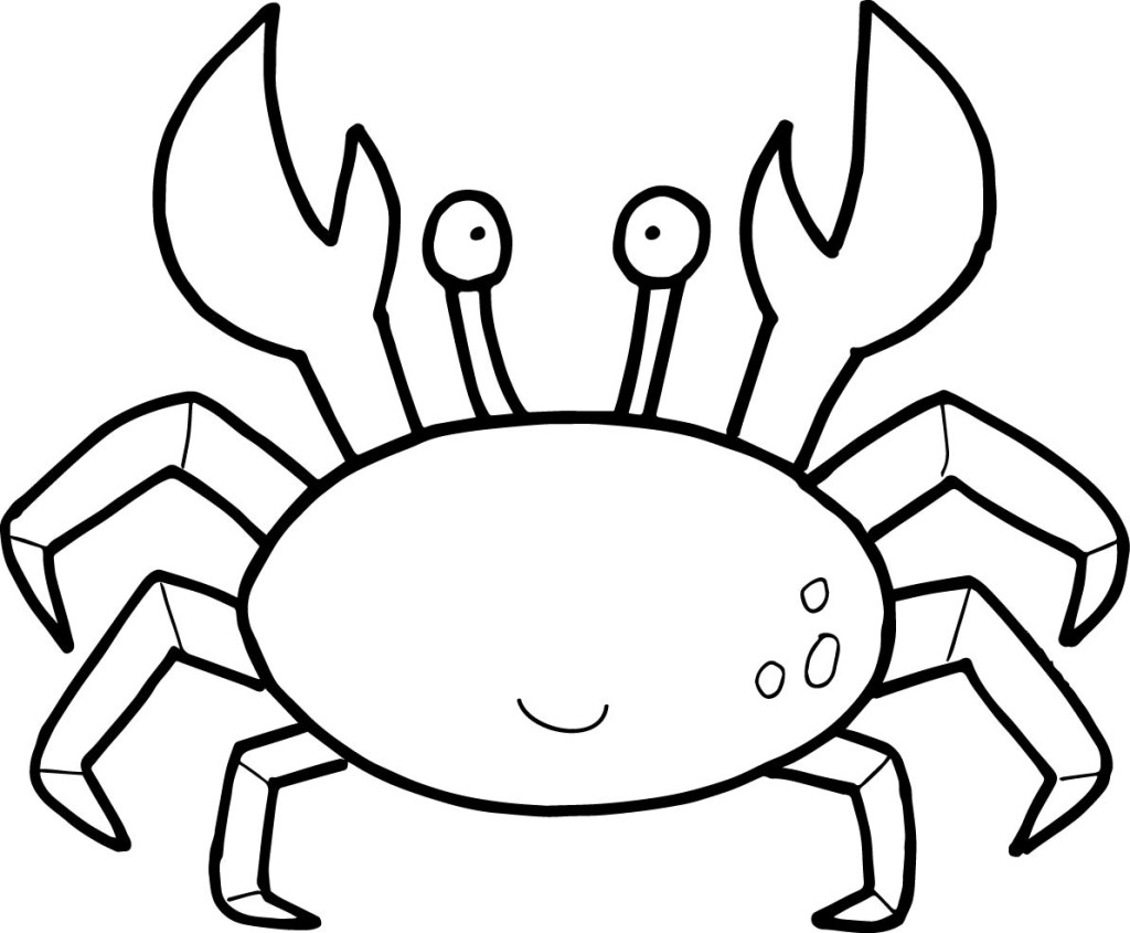 crab coloring pages by mason
