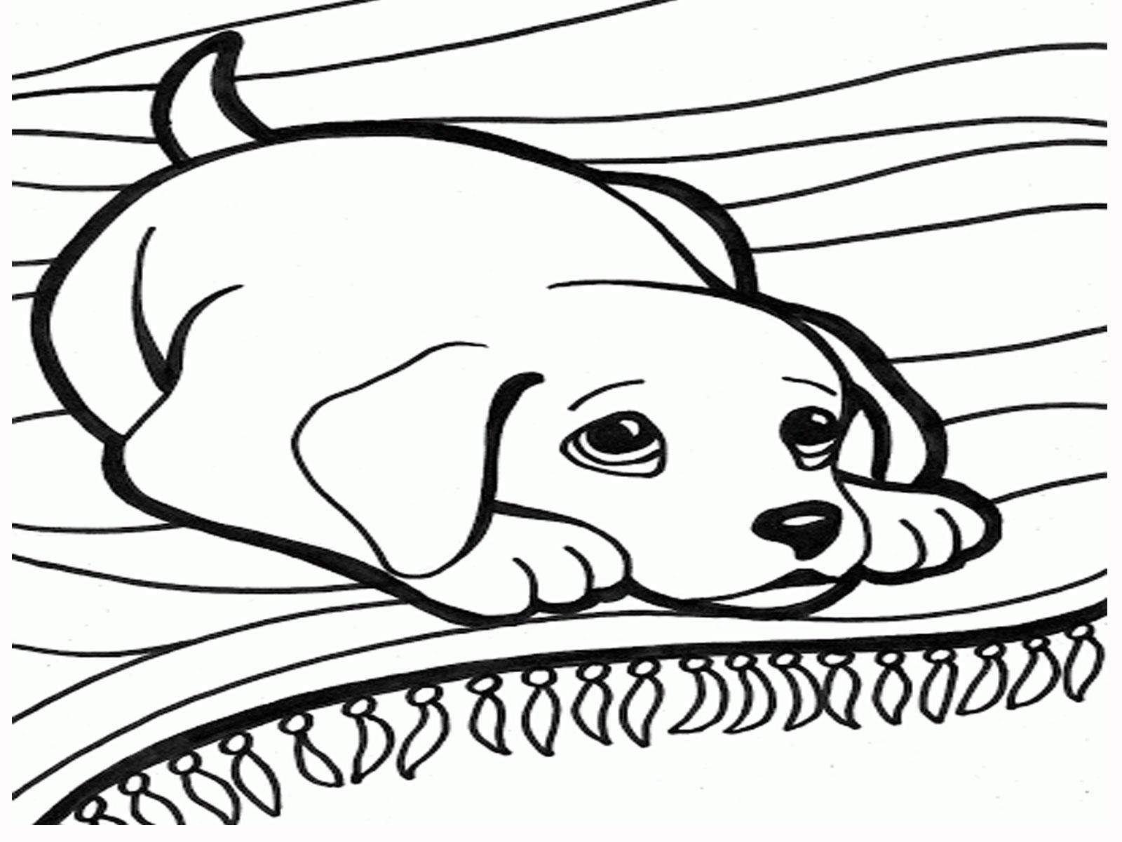 Faithful Animal Dog 20 Dog Coloring Pages