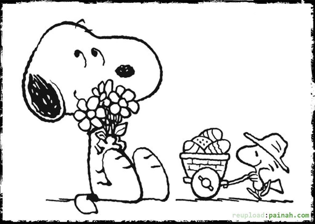 Funny adventures of a tiny dog Snoopy 20 Snoopy coloring