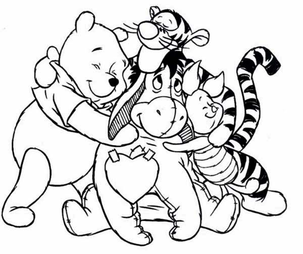winnie-the-pooh coloring pages from dylan