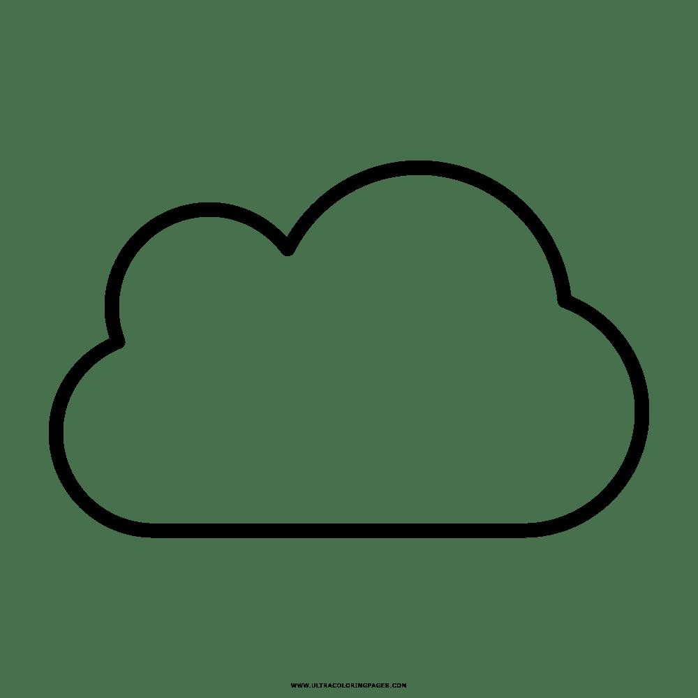 Malvorlage Wolke - tippsvorlage - tippsvorlage