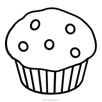 Muffin Pages Printable Coloring Pages
