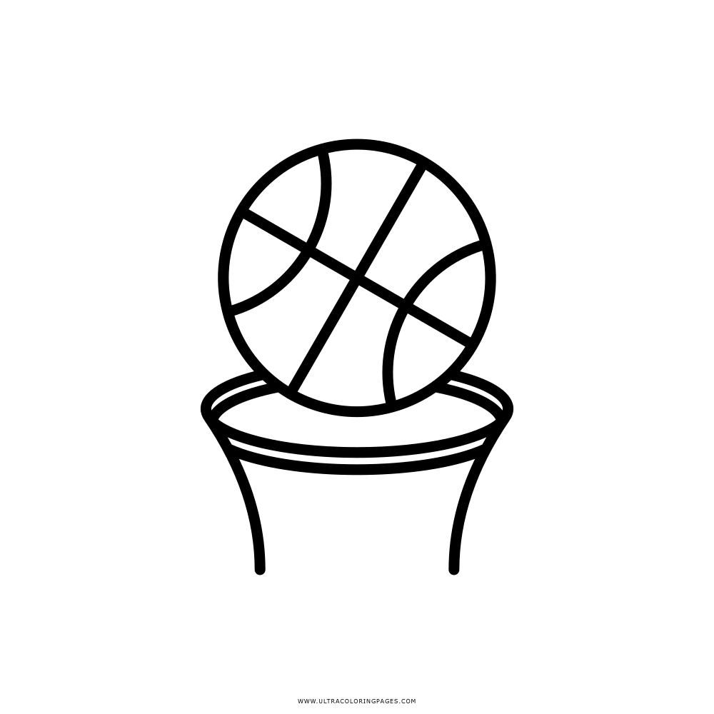 Basketball Coloring Page Ultra Coloring Pages