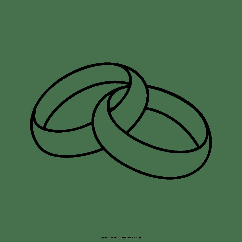 Anelli Disegni Da Colorare - Ultra Coloring Pages