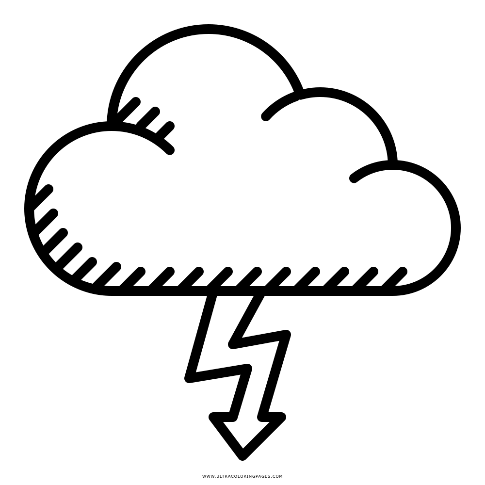 Gewitter Ausmalbilder - Ultra Coloring Pages