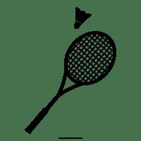Dibujo De Raqueta De Badminton Para Colorear - Ultra ...