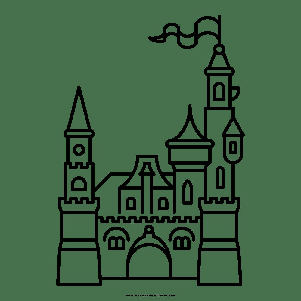 14 Ausmalbilder Schloss Prinzessin - Besten Bilder von ausmalbilder