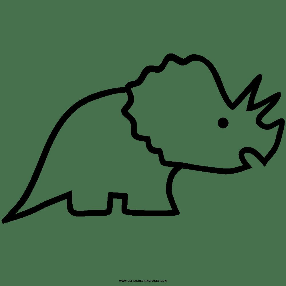 Dino Skelett Ausmalbild
