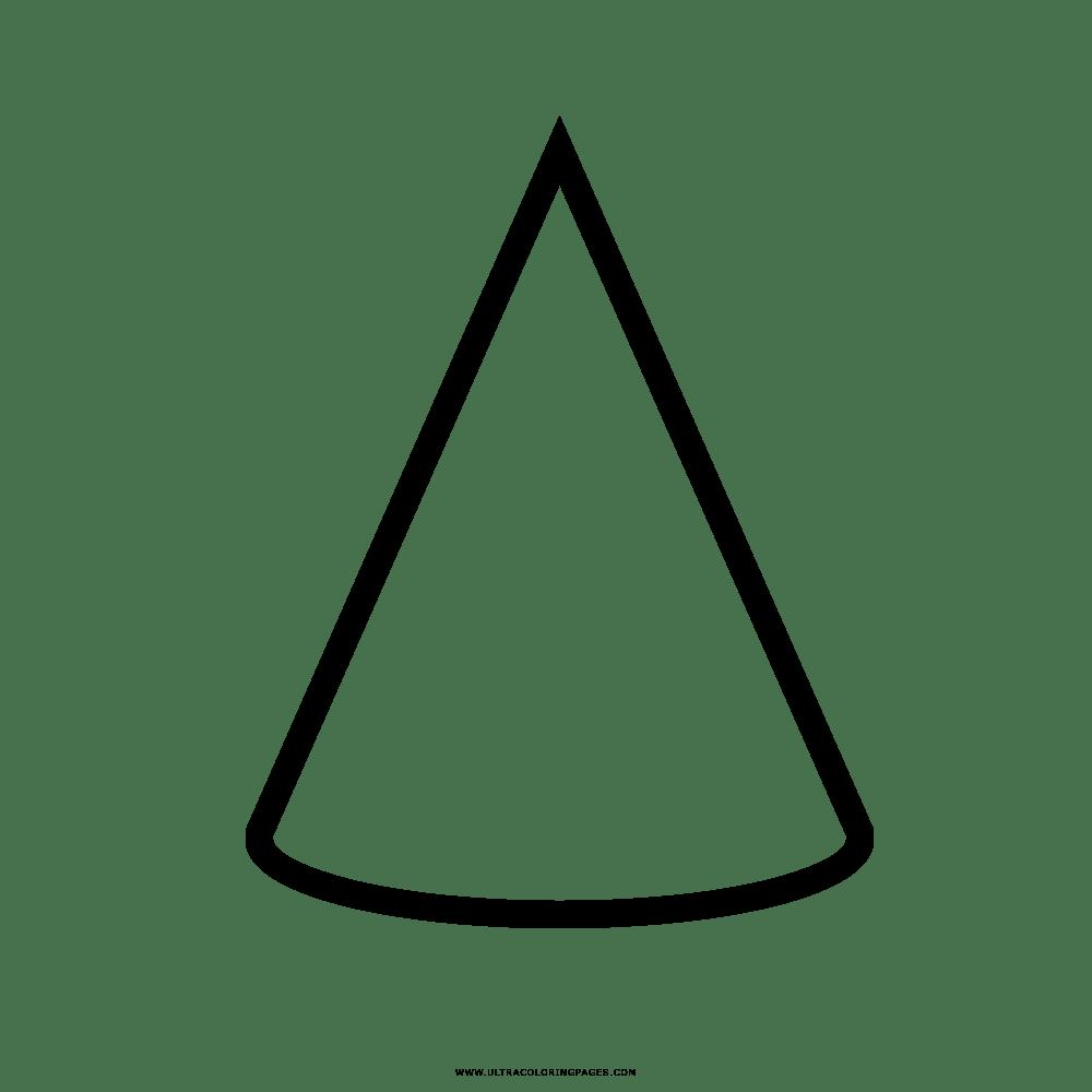 dibujos de cono para colorear dibujos de cono para