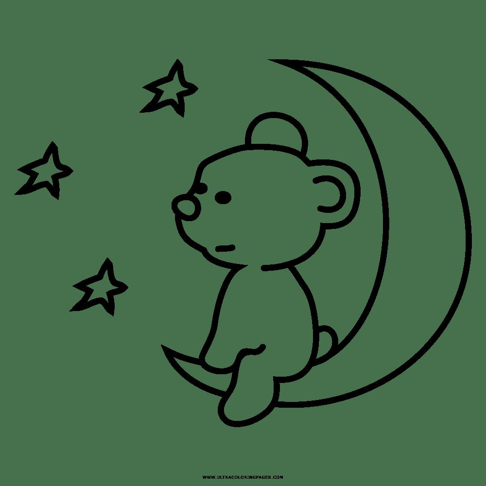 Teddybär Ausmalbild