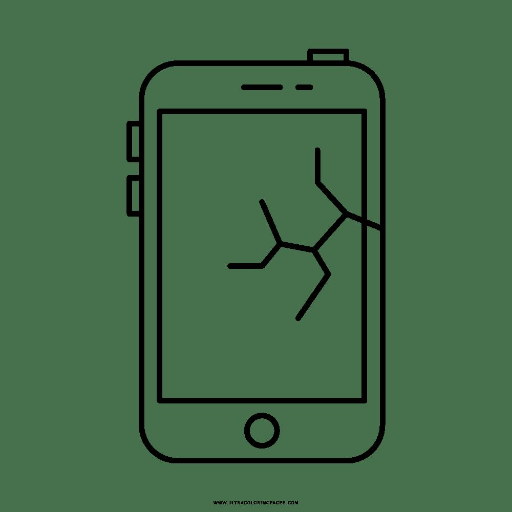 Telefono Rotto Disegni Da Colorare