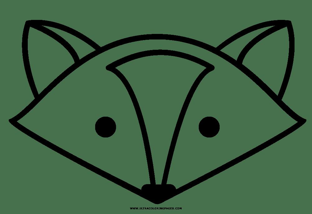 Fuchs Malvorlage