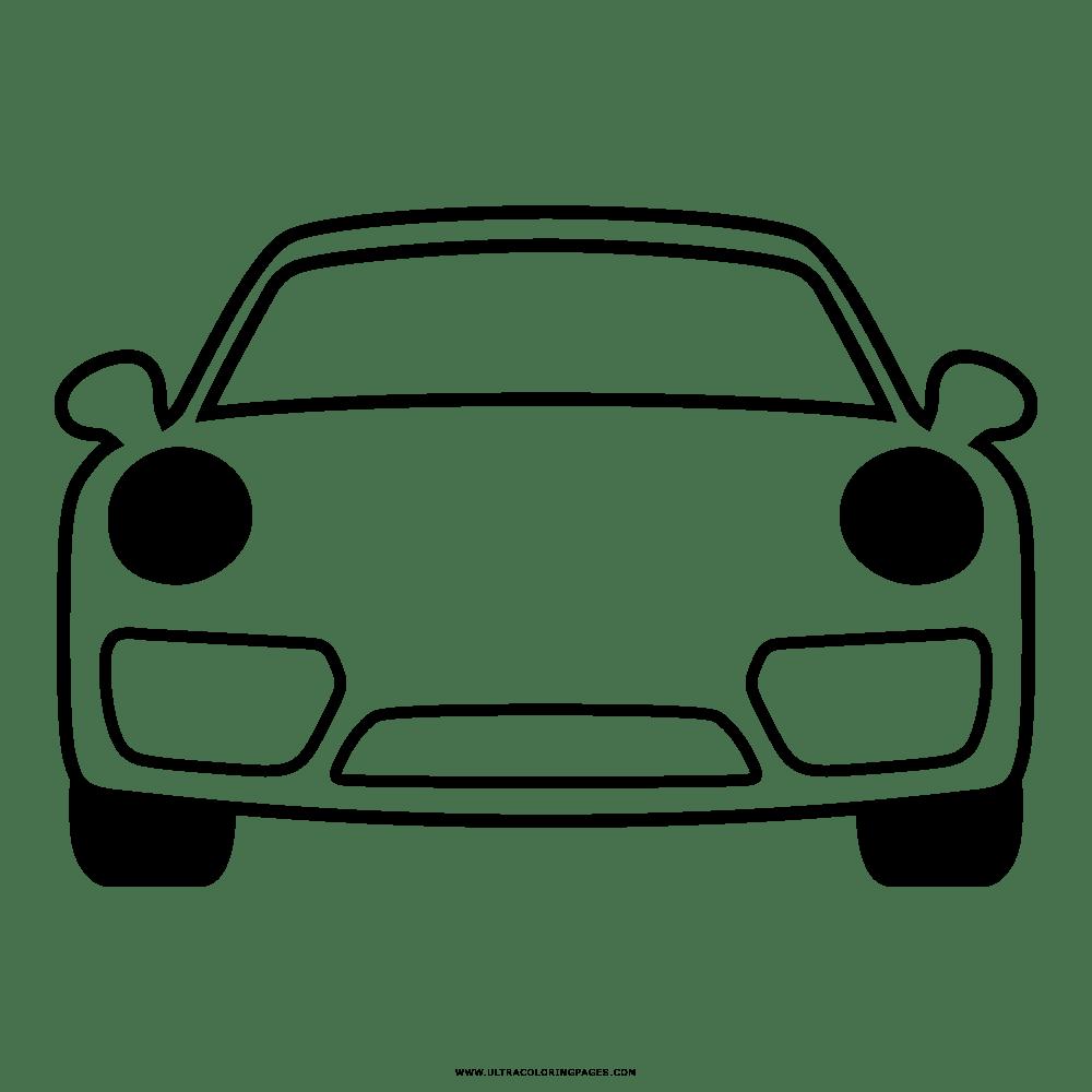 ausmalbilder autos porsche