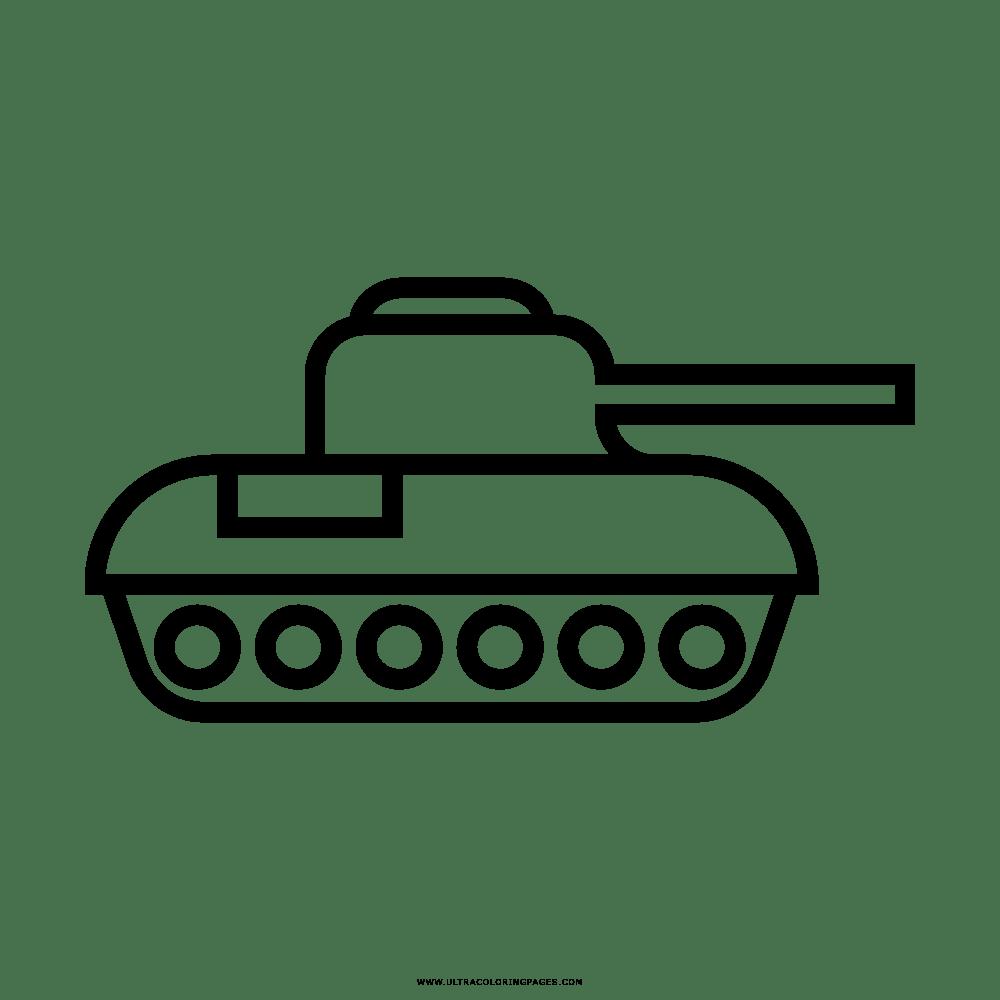 Ausmalbilder Panzer Kinder Ausmalbilder