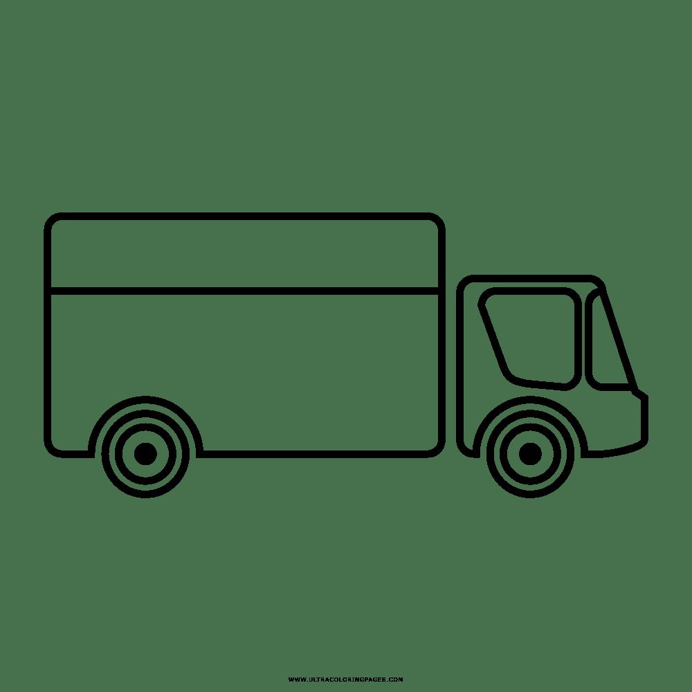 Disegni Da Colorare Camion Rimorchio