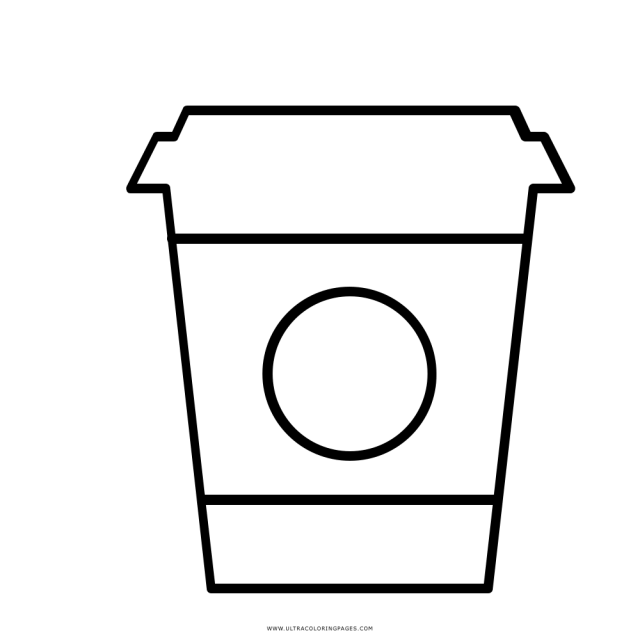Starbucks Coloring Page - Ultra Coloring Pages