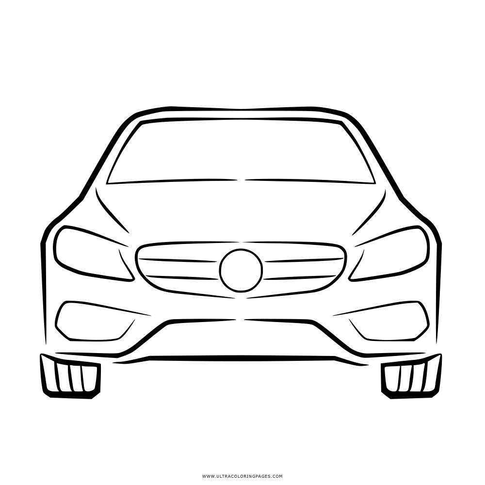 Auto Ausmalbilder Mercedes
