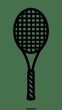 Racchetta Da Tennis Disegni Da Colorare - Ultra Coloring Pages