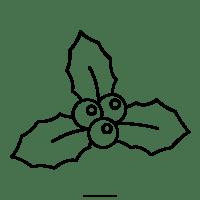 Agrifoglio Disegni Da Colorare - Ultra Coloring Pages