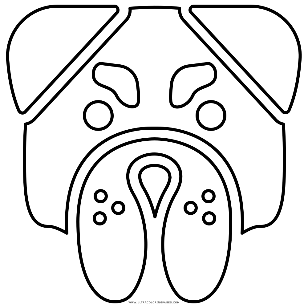 Ausmalbild Französische Bulldogge Kinder Ausmalbilder