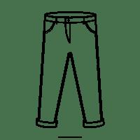 Dibujo De Pantalones Para Colorear - Ultra Coloring Pages