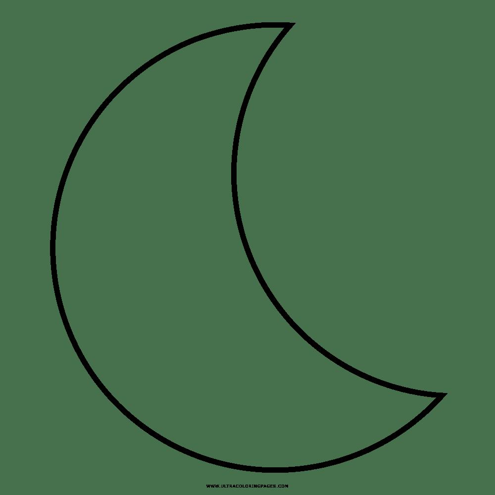 Mond Ausmalbilder - Ultra Coloring Pages