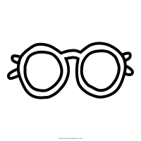 Brille Ausmalbilder   Ultra Coloring Pages