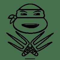 Disegni Delle Tartarughe Ninja Da Colorare Immagini Da