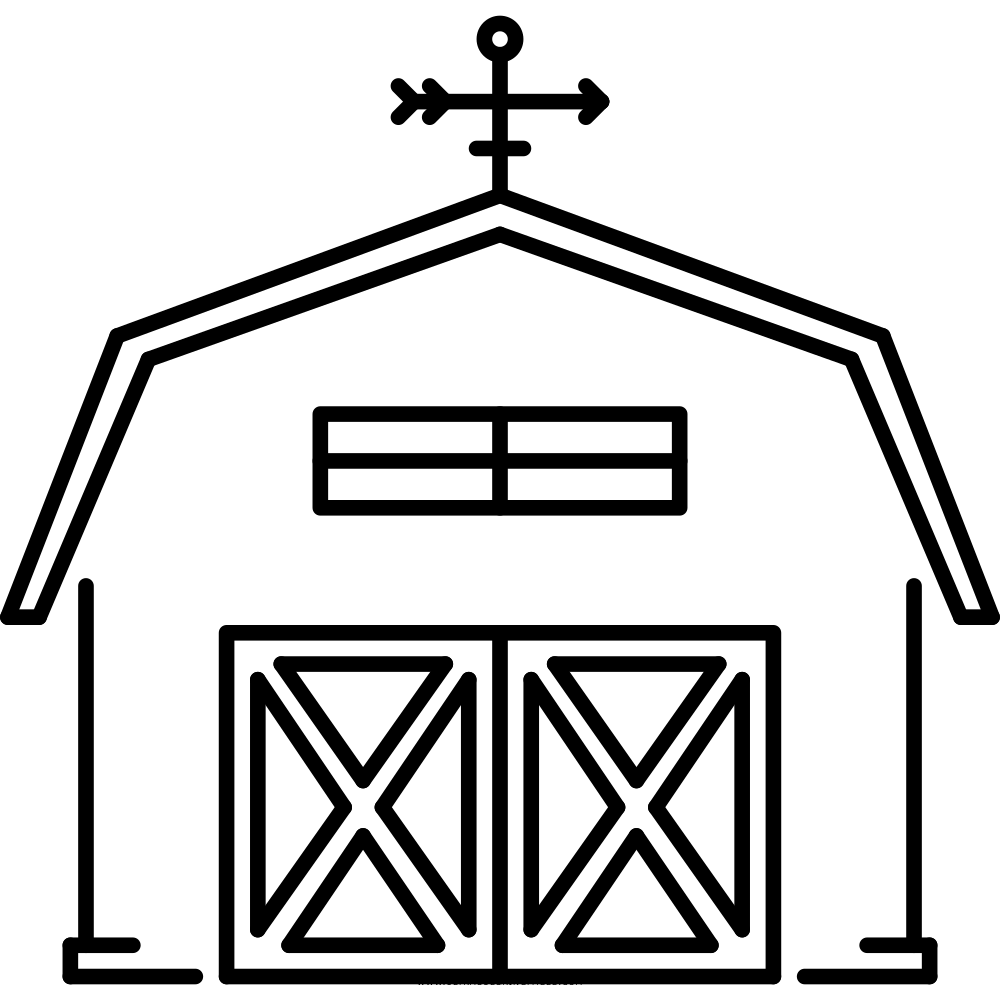 Barn Coloring Page Ultra Coloring Pages