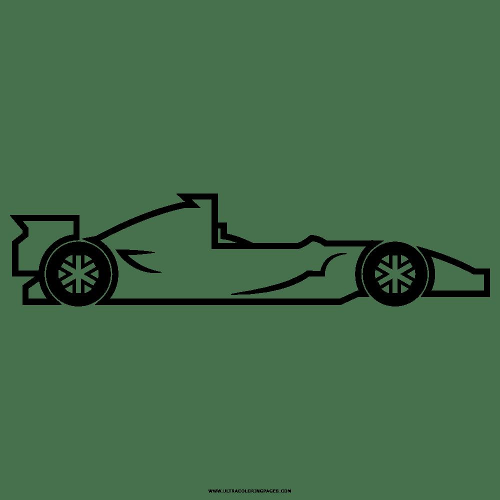Disegni Da Colorare Formula 1